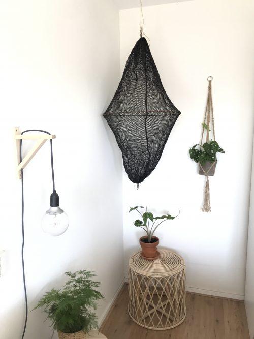 Visnet lamp uit Bali