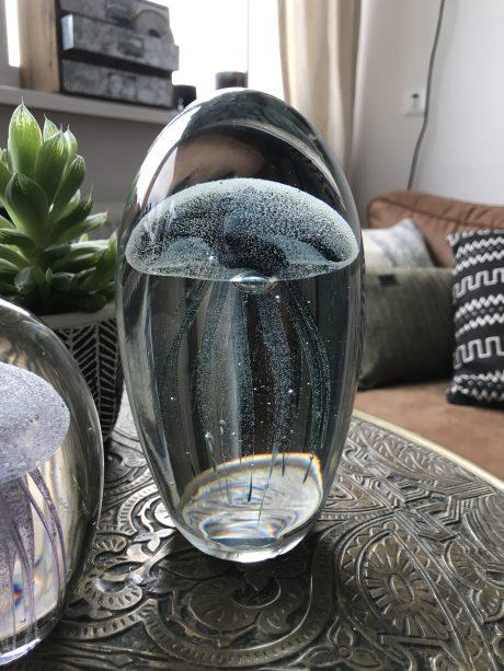 Jellyfish donkerblauw met zwart