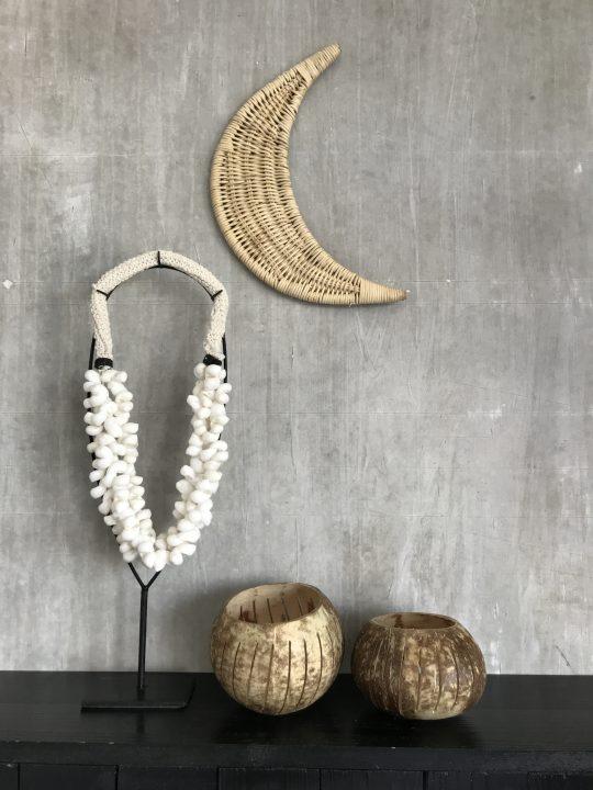 kokosnootbakjes met gaatjes