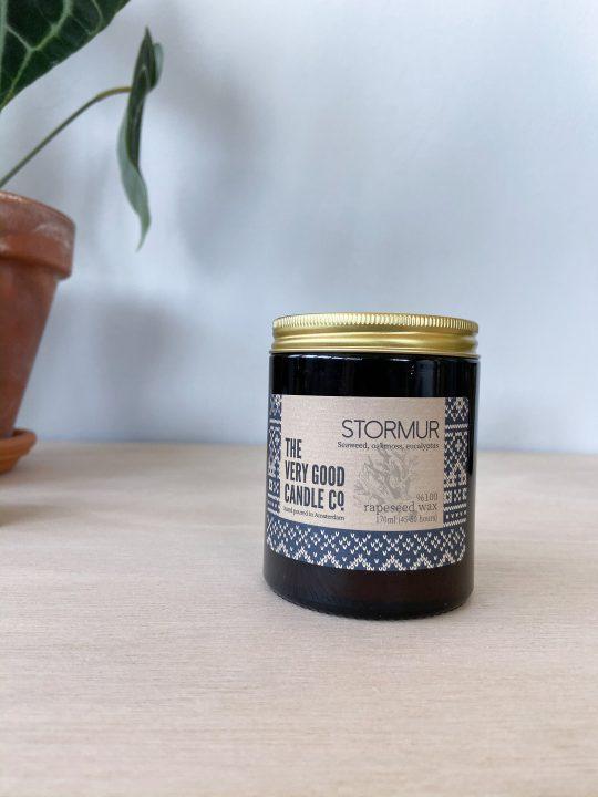 the very good candle company geurkaars stormur