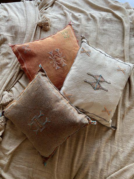 kussens uit marokko handgemaakt