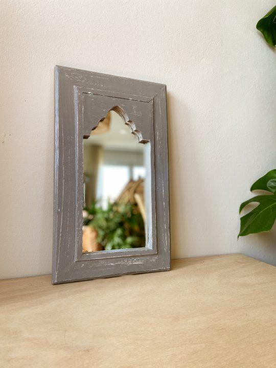 marokkaanse spiegel hout