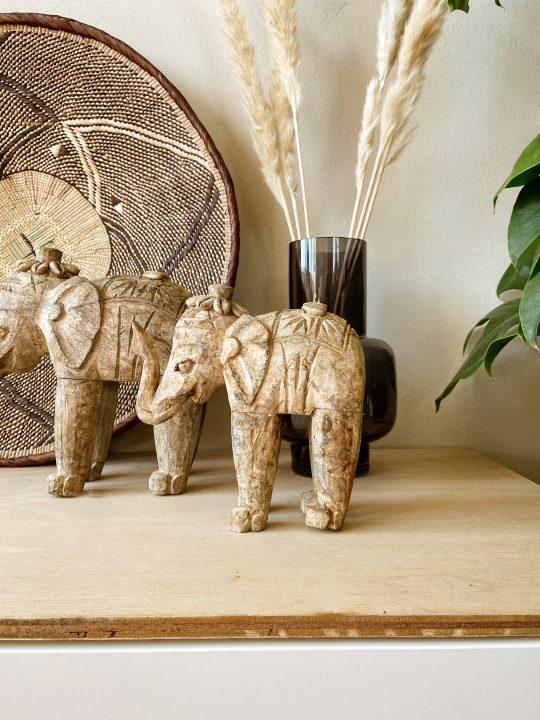 houten olifant decoratie indisch
