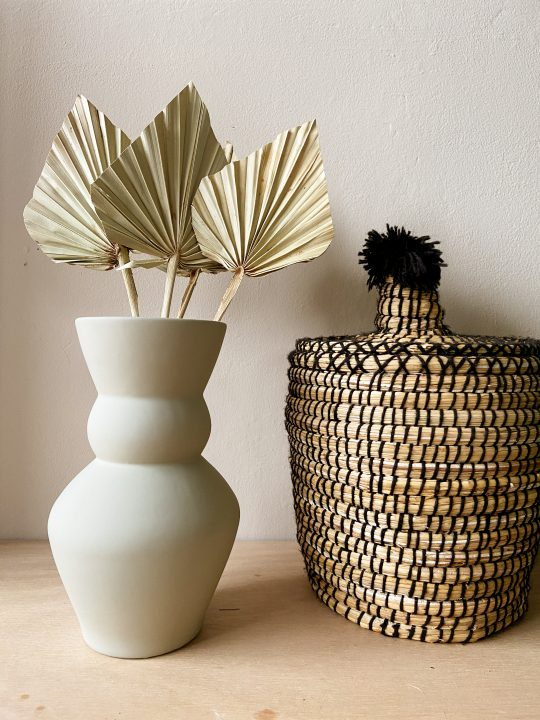 palm blad decoratie