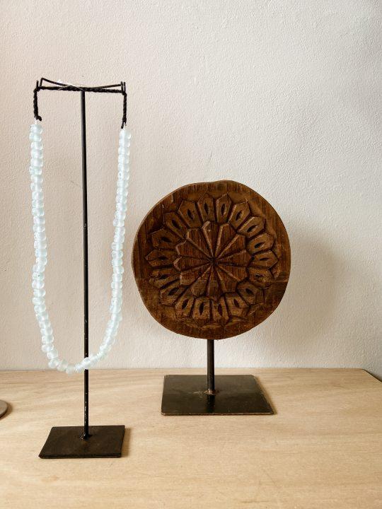 houten ornament uit india